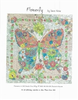 Flowerfly.. Butterfly Quilt Pattern by Laura Heine