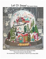 Let It Snow Collage Quilt Pattern by Laura Heine
