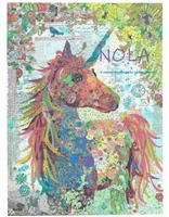 Nola Collage Quilt Pattern by Laura Heine