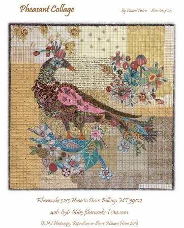 Pheasant Collage Quilt Pattern By Laura Heine