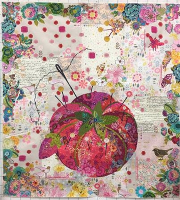 Pincushion Collage Quilt Pattern by Laura Heine