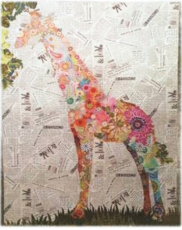 Potpourri Giraffe Collage Quilt Pattern