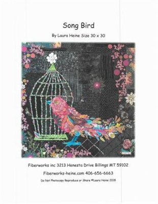 Songbird Collage Quilt Pattern by Laura Heine