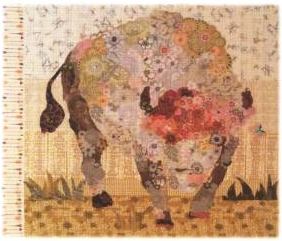 White Buffalo Collage Quilt Pattern