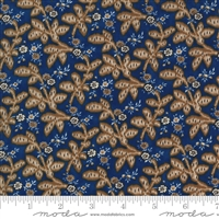 Ladies Legacy:  Gertrudes Wrapper Leaves in Union Blue by Barbara Brackman