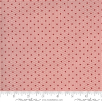 Ladies Legacy:  Ellens Comfort Star in Cooper Red-Pink by Barbara Brackman