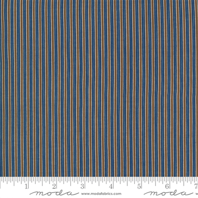 Ladies Legacy:  Samuels Patchwork Stripe in Union Blue by Barbara Brackman