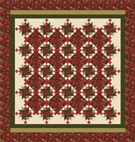 Rose Apple Cottage Quilt Pattern by Marianne Elizabeth