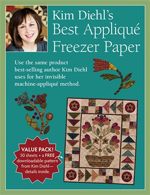 Kim Diehl Applique Freezer Paper Sheets