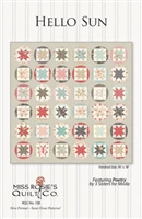 Hello Sun Quilt Pattern by Miss Rosie