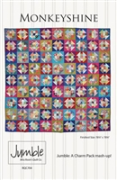 Monkeyshine Jumble Quilt Pattern by Miss Rosie