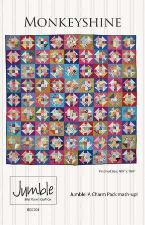 Monkeyshine Jumble Quilt Pattern by Miss Rosie : miss rosie quilt - Adamdwight.com