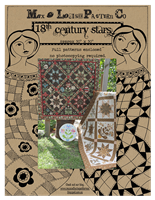 18th Century Stars Quilt Pattern by Max & Louise Pattern Co.