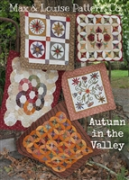 Autumn in the Valley Quilt Pattern by Max & Louise