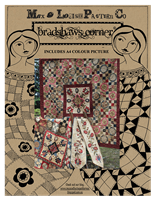 Bradshaws Corner Quilt Pattern by Max & Louise Pattern Co.