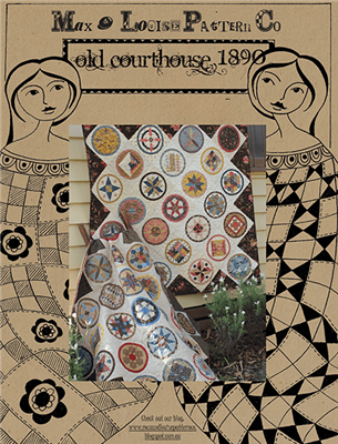 Old Courthouse 1890 Quilt Pattern by Max & Louise Pattern Co.