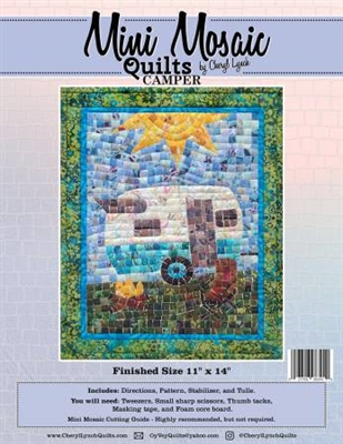 Mini Mosaics Quilt Pattern: The Camper