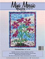 Mini Mosaics Quilt Pattern: Flowers