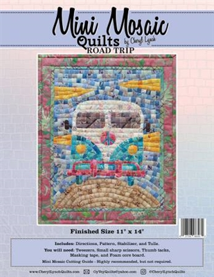 Mini Mosaics Quilt Pattern:  ROAD-TRIP