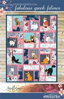 Fabulous Greek Felines Sew and Flip Quilt Pattern
