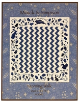 Morning Walk Applique Quilt Pattern by Minnick & Simpson