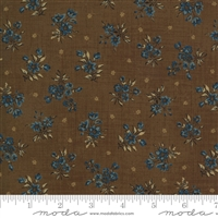 Maria's Sky Wildflower Chestnut Brown  by Betsy Chutchian for Moda