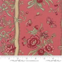 Elegant Stripe Faded Red by French General
