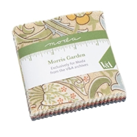 Morris English Garden Mini Charm Packs from Moda