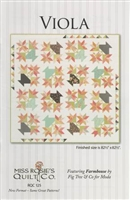 Viola Quilt Pattern by Miss Rosie