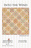Into The Wind Quilt Pattern by Miss Rosie's Quilt Company