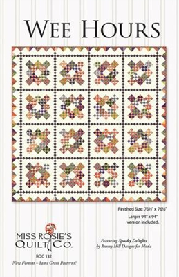 Wee Hours Quilt Pattern by Miss Rosie's Quilt Company