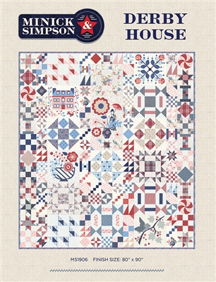 Derby House Block of the Month Block of the Month from Minick & Simpson