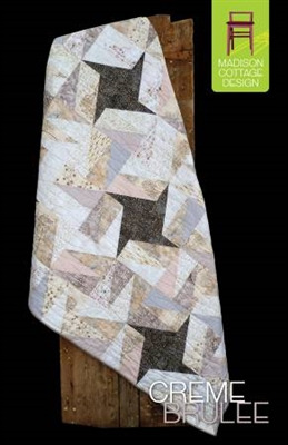 Creme Brulee Quilt Pattern by Madison Cottage
