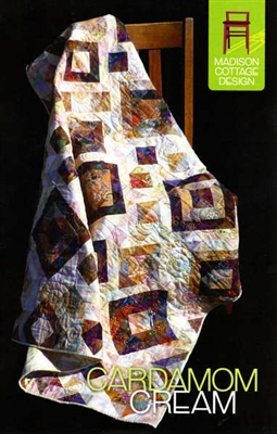 Cardamom Cream Quilt Pattern by Madison Cottage