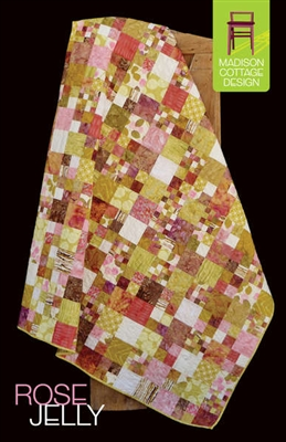 Rose Jelly Quilt Pattern by Madison Cottage