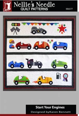 Start Your Engines Quilt Pattern