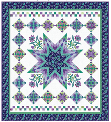 HARMONY  Quilt Pattern from Nancy Rink Designs