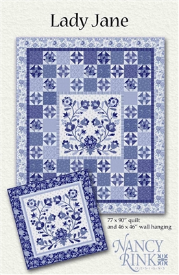 Lady Jane Quilt Pattern from Nancy Rink Designs