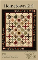 Hometown Girl Quilt Pattern from Nancy Rink Designs