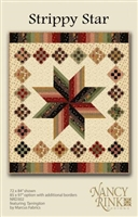 Strippy Star Quilt Pattern from Nancy Rink Designs