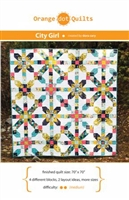 City Girl Quilt Pattern by Dora Cary