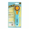 Splash Rotary Cutter 45mm from Olfa (AQUA)