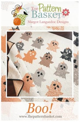 BOO Quilt Pattern by Pattern Basketn by Pattern Basket