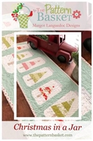 Christmas Jars Table Runner Quilt Pattern by Pattern Basket