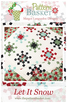 Let It Snow Quilt Pattern by Pattern Basket