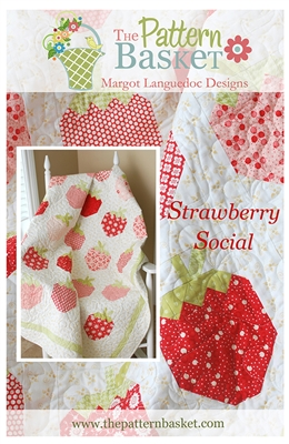 Strawberry Social Quilt Pattern by Pattern Basket