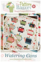 Watering Cans Quilt Pattern by Pattern Basket