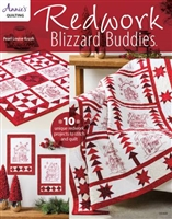 Redwork Blizzard Buddies from Annies