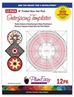 Hot Pad Interfacing Templates 12-pack