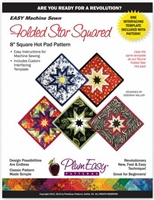 Square Folded Star Hot Pad Pattern
